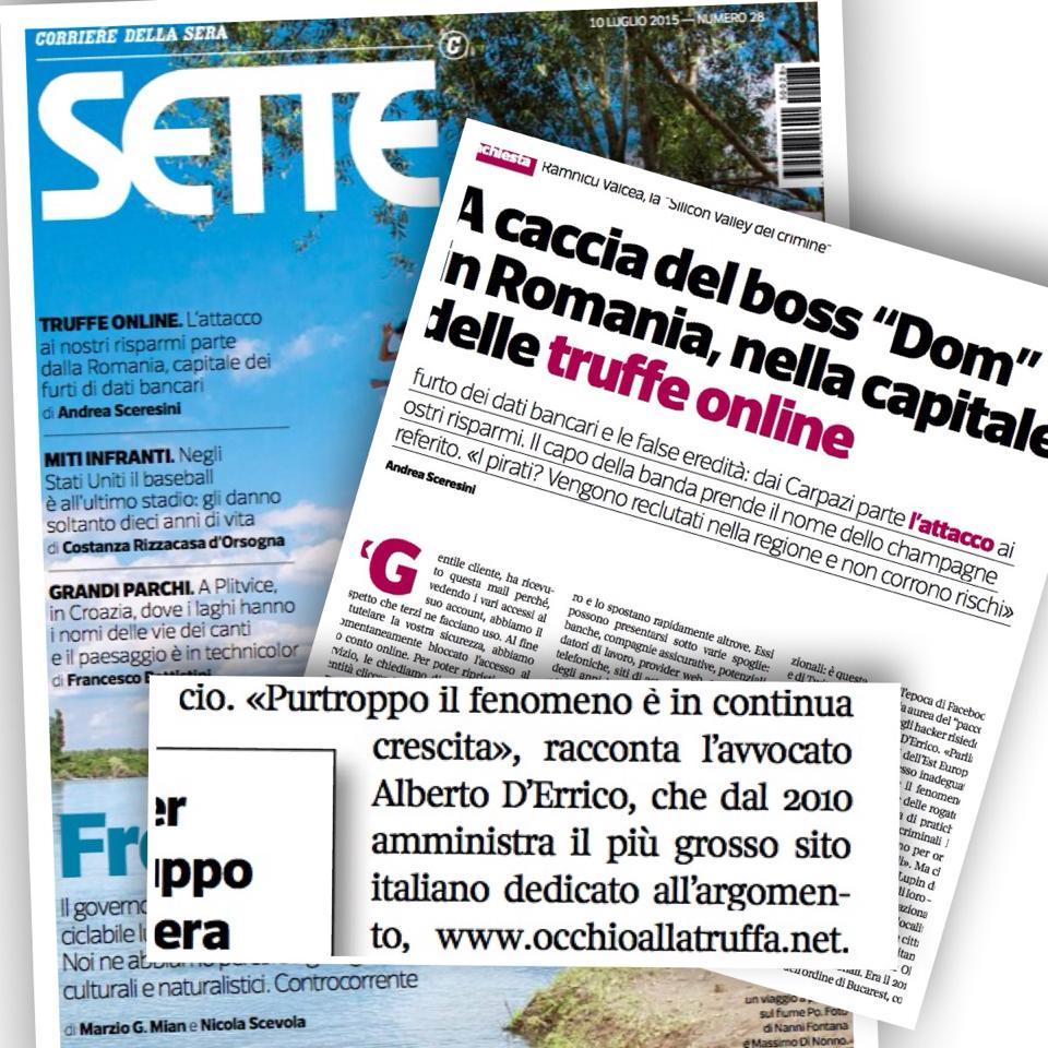 OcchioAllaTruffa.net - Sette - Corriere della Sera